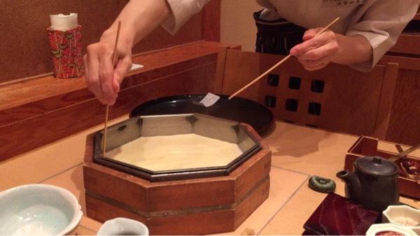 手作り湯葉作り