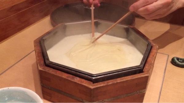 引き上げ湯葉 作り