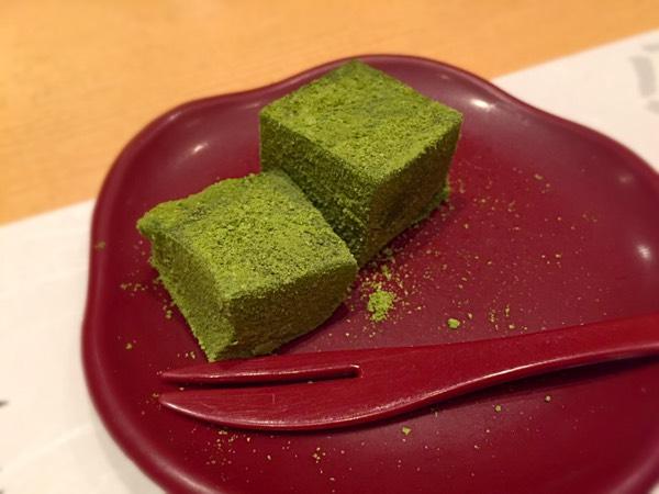 デザート(わらび餅)