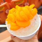 夏にピッタリ!横浜スタジアムの名物グルメ「みかん氷」を食べてきた