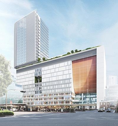 横浜駅西口 完成イメージ