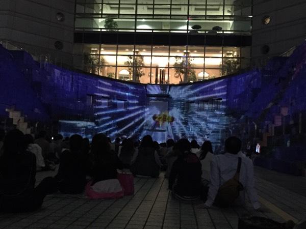 プロジェクションマッピング YOKOHAMA ODYSSEY