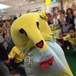 横浜そごう「ふなっしーランド」に本物ふなっしー登場!初ふなっしーに大興奮!!!