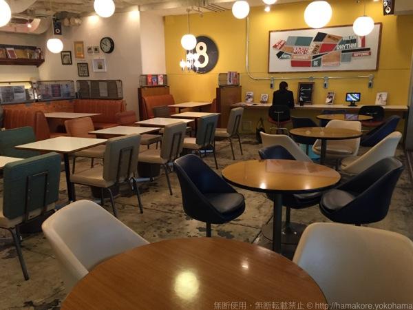 WIRED CAFE 横浜ジョイナス 店内