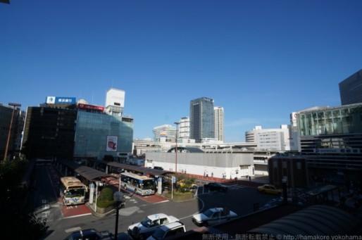 横浜駅西口駅ビル計画 2015年9月 横浜駅写真