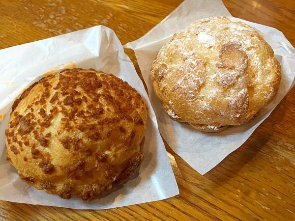 横浜ポルタ「ビアードパパの作りたて工房」パイシューとクッキーシュー