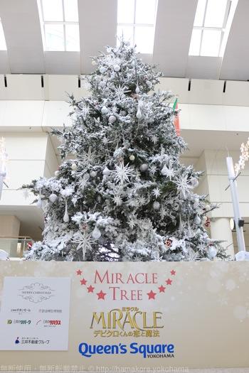 クイーンズスクエア クリスマスツリー 2014の様子