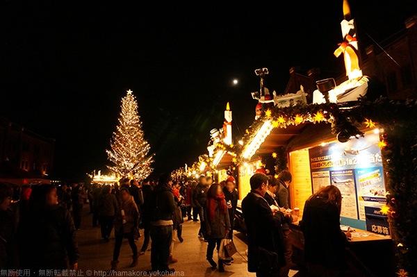 横浜赤レンガ倉庫 クリスマスイルミネーション