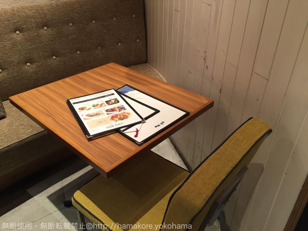 横浜ベイクォーター「WIRED CAFE」