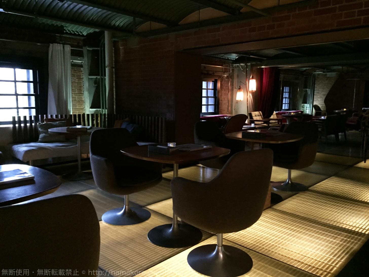 茶の間カフェ テーブル席