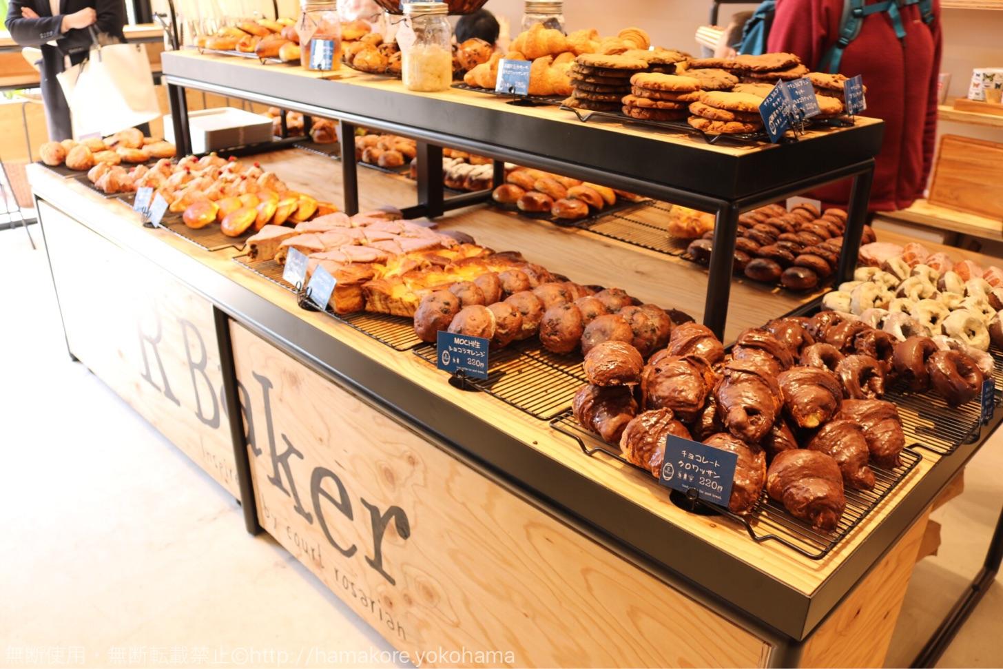 & Swell 店内のパン