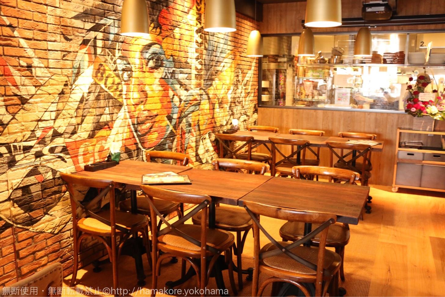 カカアコ DINING & CAFE カメハメハベーカリー 店内