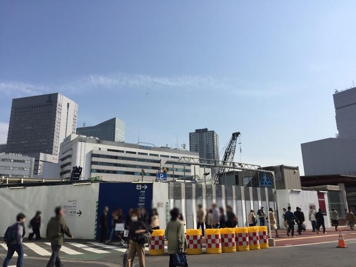 2016年3月 横浜駅西口の様子