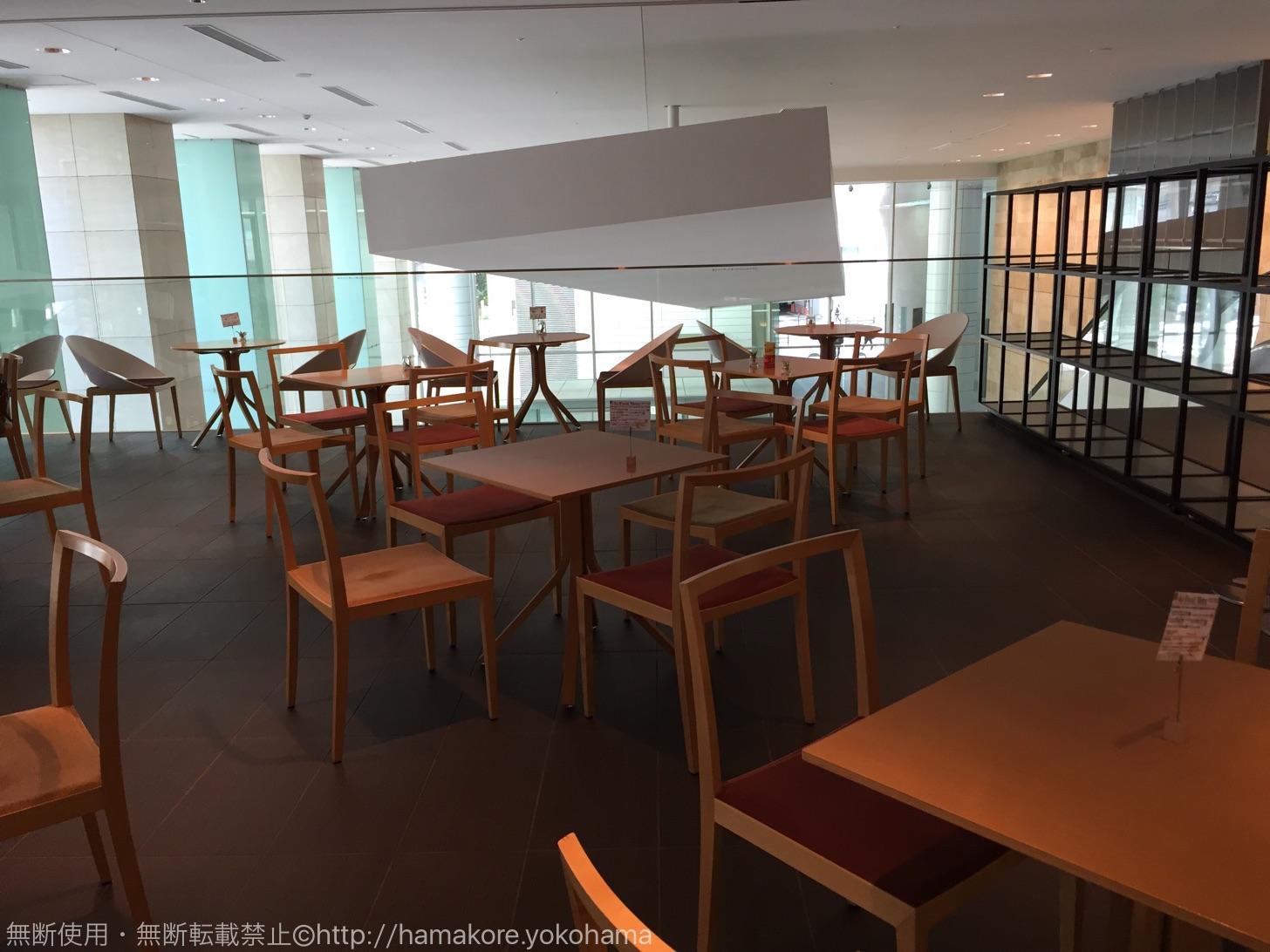 横浜駅 電源Wi-Fiカフェ「カフェ・ド・ティーケーピー」