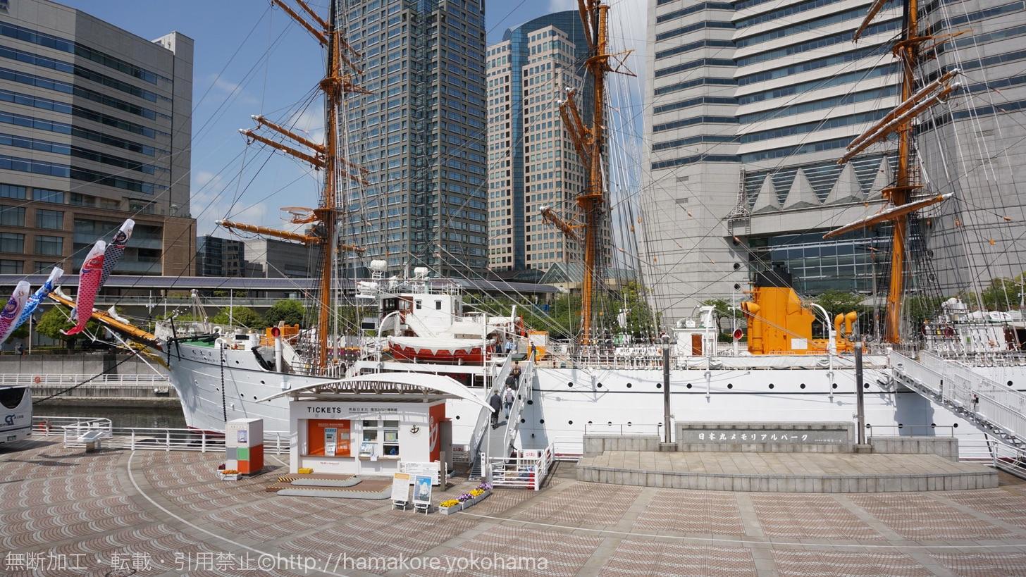 2016年 日本丸の総帆展帆スケジュール