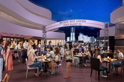 世界の屋台料理が大集合!横浜ベイクォーター「ベイサイドビアガーデン」が期間限定開催