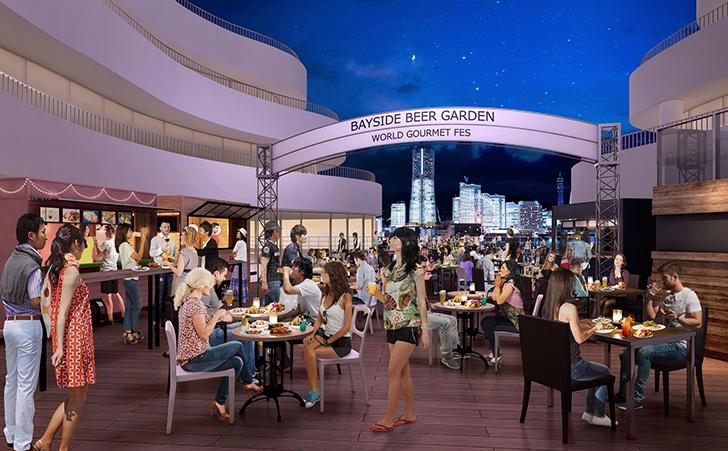 世界の屋台料理が大集合!横浜ベイクォーター「ベイサイドビアガーデン」