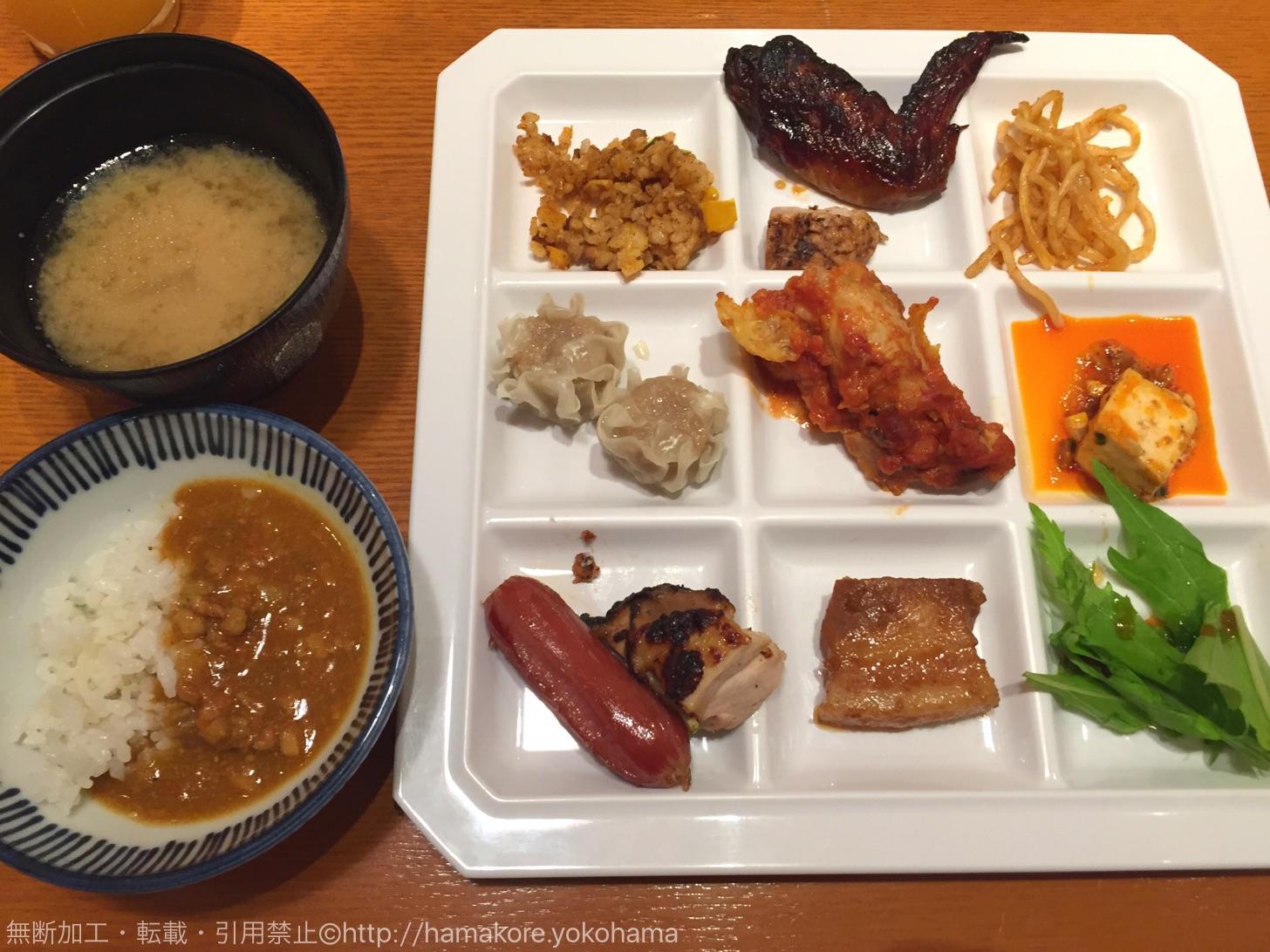 餉餉(ケケ) 横浜ランドマークタワー店 ブッフェ
