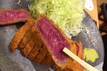 横浜ヨドバシ地下「京都勝牛」の牛カツは和の味が決め手!だし醤油がおすすめ