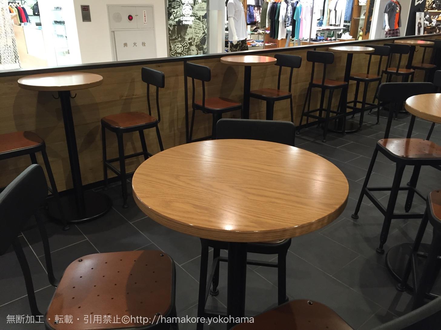 スターバックス 横浜ビブレ店 店内の様子