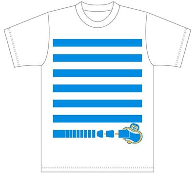 横浜ベイクォーター×ガリガリ君オリジナルTシャツ