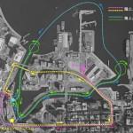 横浜みなとみらい水陸両用バスのデザイン決定!7月27日から実験開始