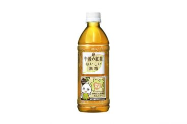 神奈川限定!午後の紅茶 おいしい無糖にかなふぅが描かれたボトルが7月26日より発売
