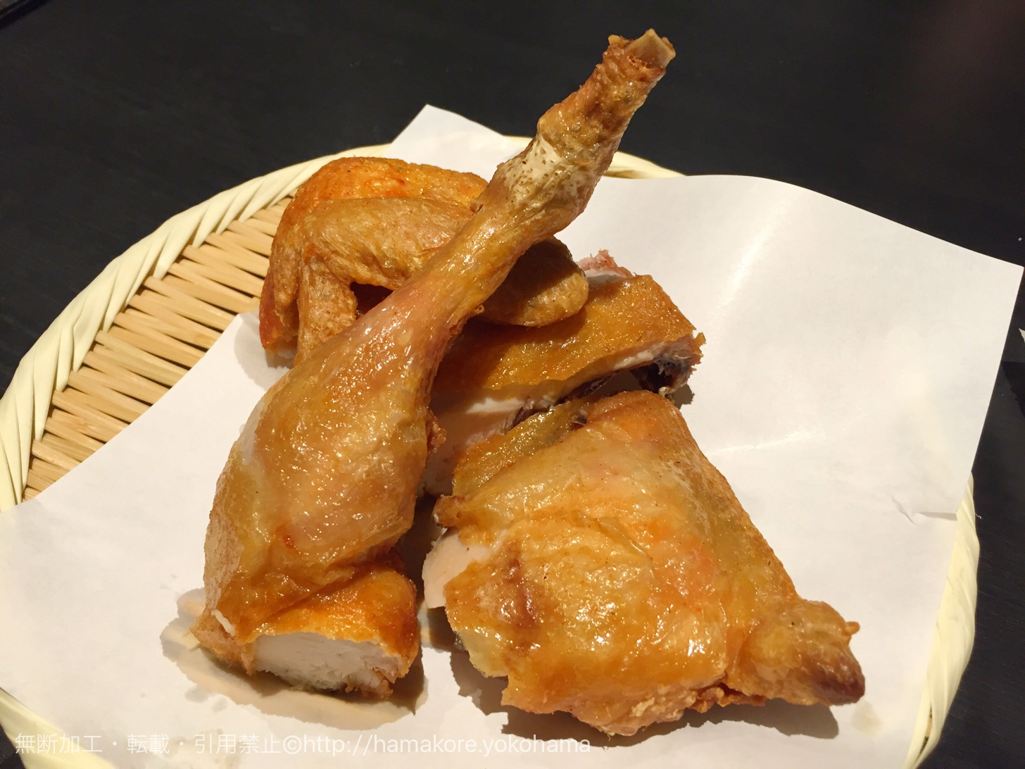 鶏半身揚げ 980円