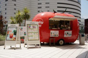 横浜ベイクォーター「グッデイジュース」のスイカ100%生ジュース美味しすぎ!暑い夏におすすめ