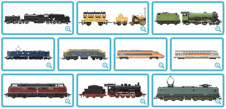 約1000車両 鉄道模型展示
