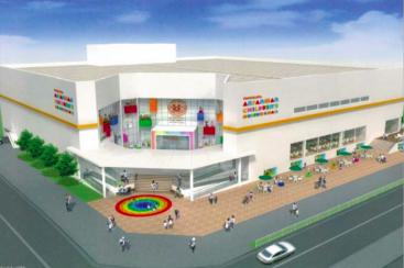 マリノスタウン跡地には何が?横浜アンパンマンミュージアムがモール併設で移転