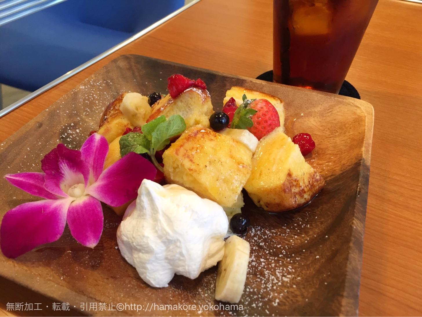 Roof Top Cafe YOKOHAMA フレンチトースト