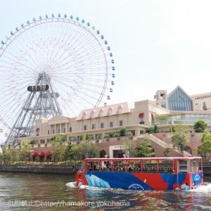 水陸両用バス横浜 スカイダックに初乗車!陸と海から見た絶景の紹介と感想