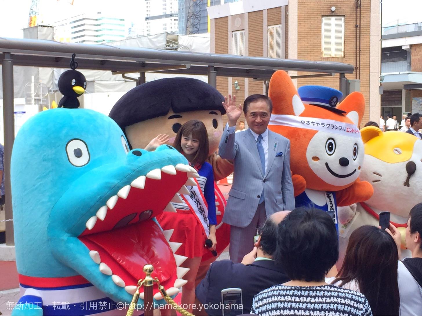 新垣里沙さんと黒岩県知事