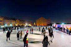 横浜赤レンガ倉庫「アートリンク」は2016年12月3日から利用開始!夜景を見ながらスケートも