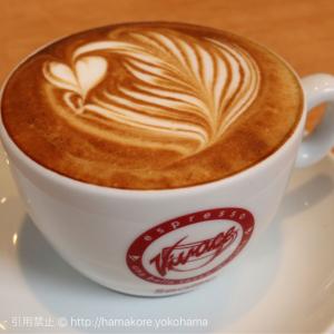 横浜のカフェエリオットアベニューで絶品カフェオレ!ビバーチェのコーヒー豆を使った最高級エスプレッソ