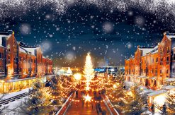 横浜赤レンガ倉庫 クリスマスマーケットは2016年11月26日から開催!雪の初演出も