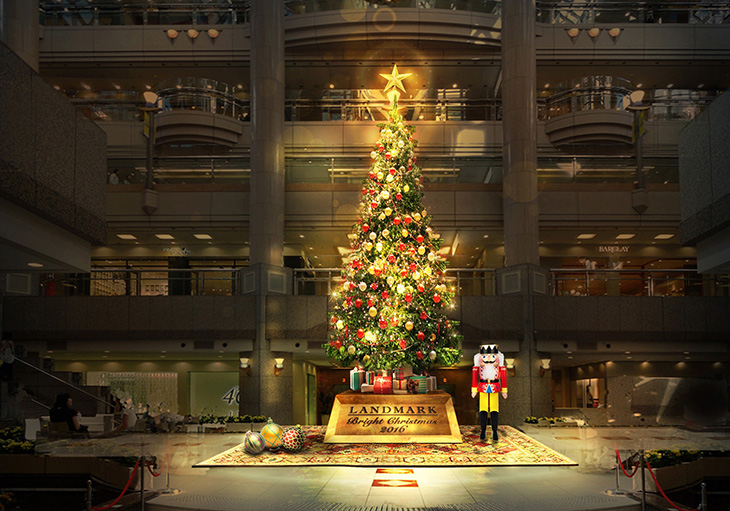 Landmark Bright Christmas 2016 クリスマスツリー(イメージ)