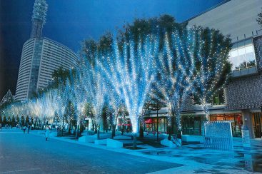 MARK IS Happy Blue Christmas が2016年11月10日から開催!グランモール公園が青に染まる