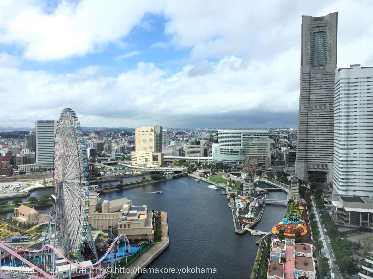 街側の部屋からの眺め(朝)