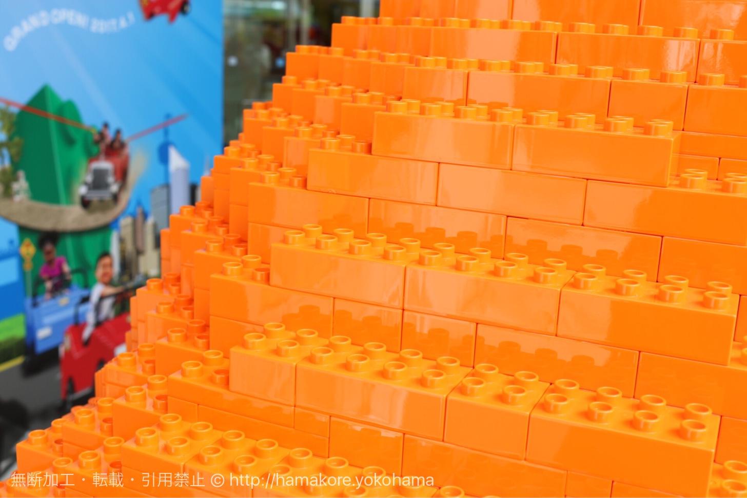 ジャイアント・パンプキンのレゴ