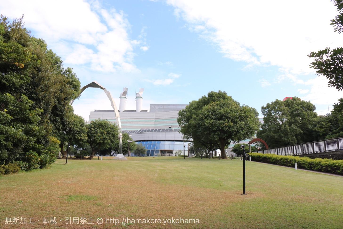 キリンビール横浜工場 外観