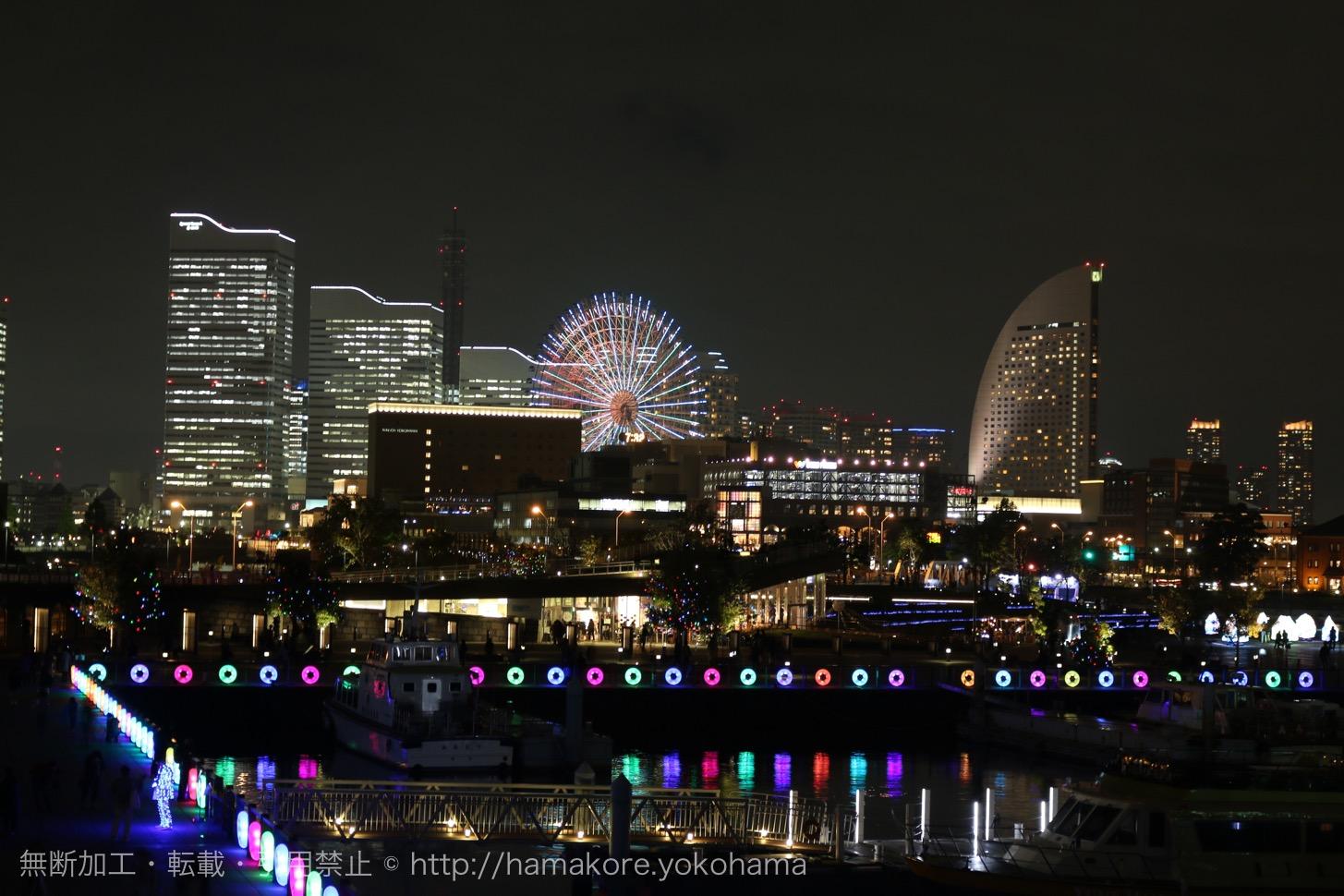 スマートイルミネーション2016が横浜みなとみらいで今年も開催!街全体の輝く光の祭典