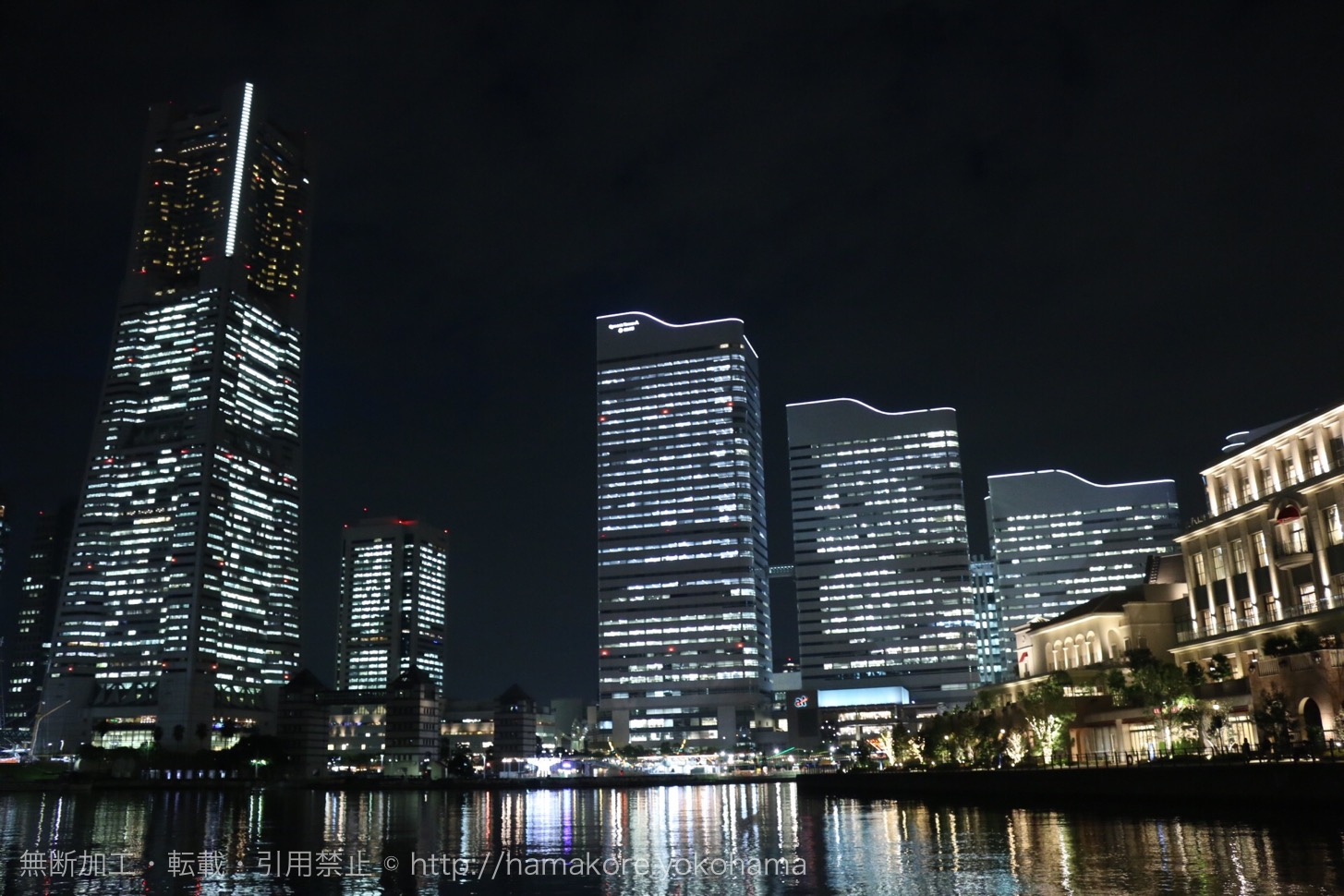 横浜ランドマークタワー 夜景