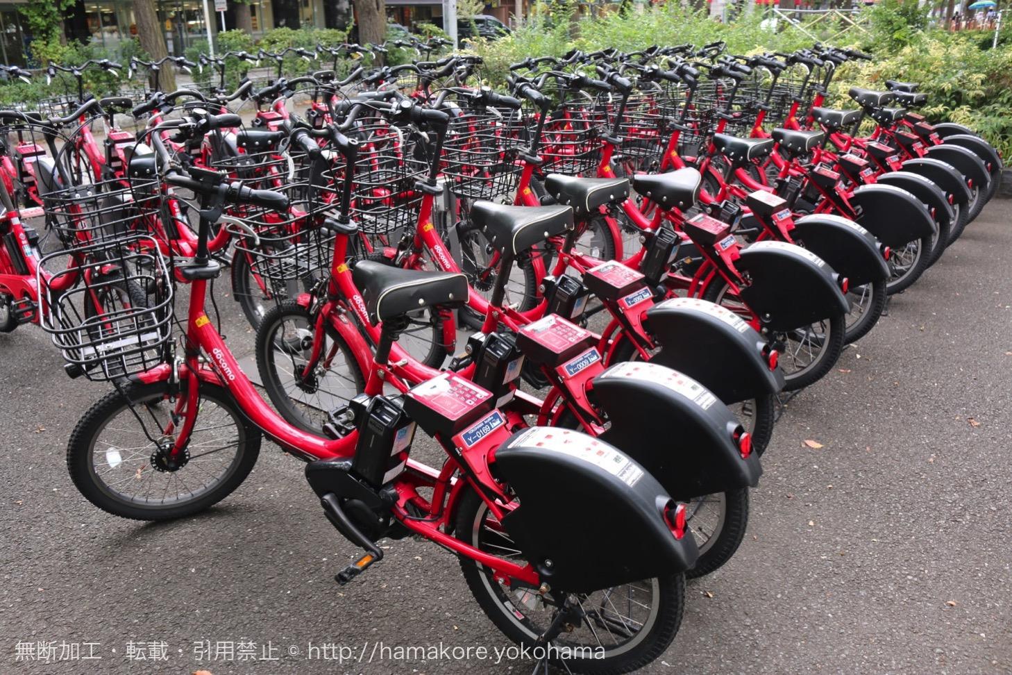 横浜みなとみらい観光にオススメのレンタル自転車「ベイバイク」は1日乗り放題で返却場所自由