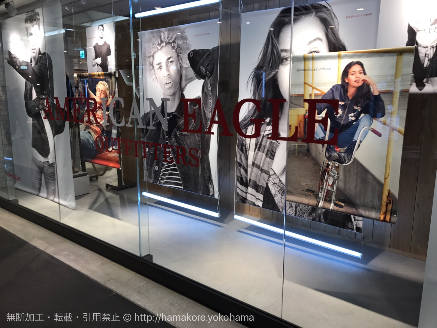 横浜駅 バールデルソーレの跡地に「アメリカンイーグル アウトフィッターズ」がオープン!