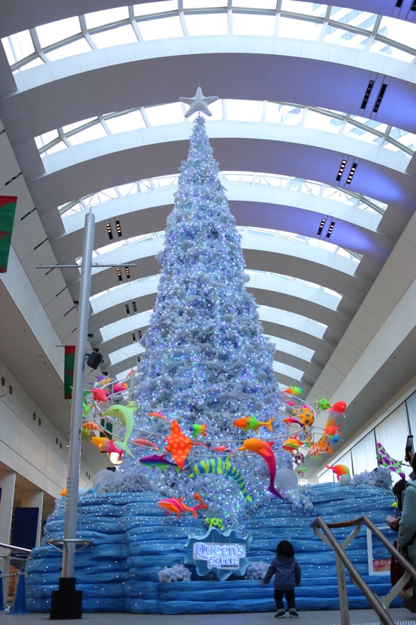 クイーンズスクエア クリスマスツリー
