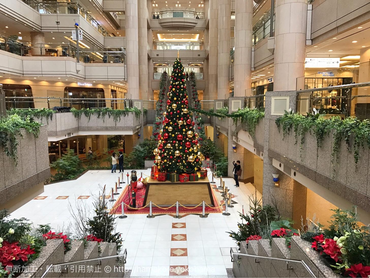 ランドマークプラザ クリスマスツリー