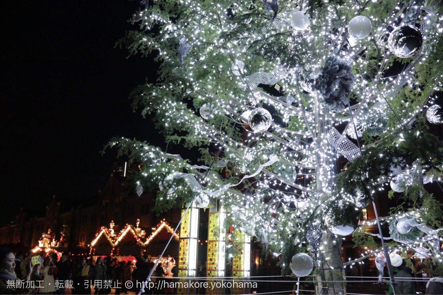 クリスマスマーケット クリスマスツリー