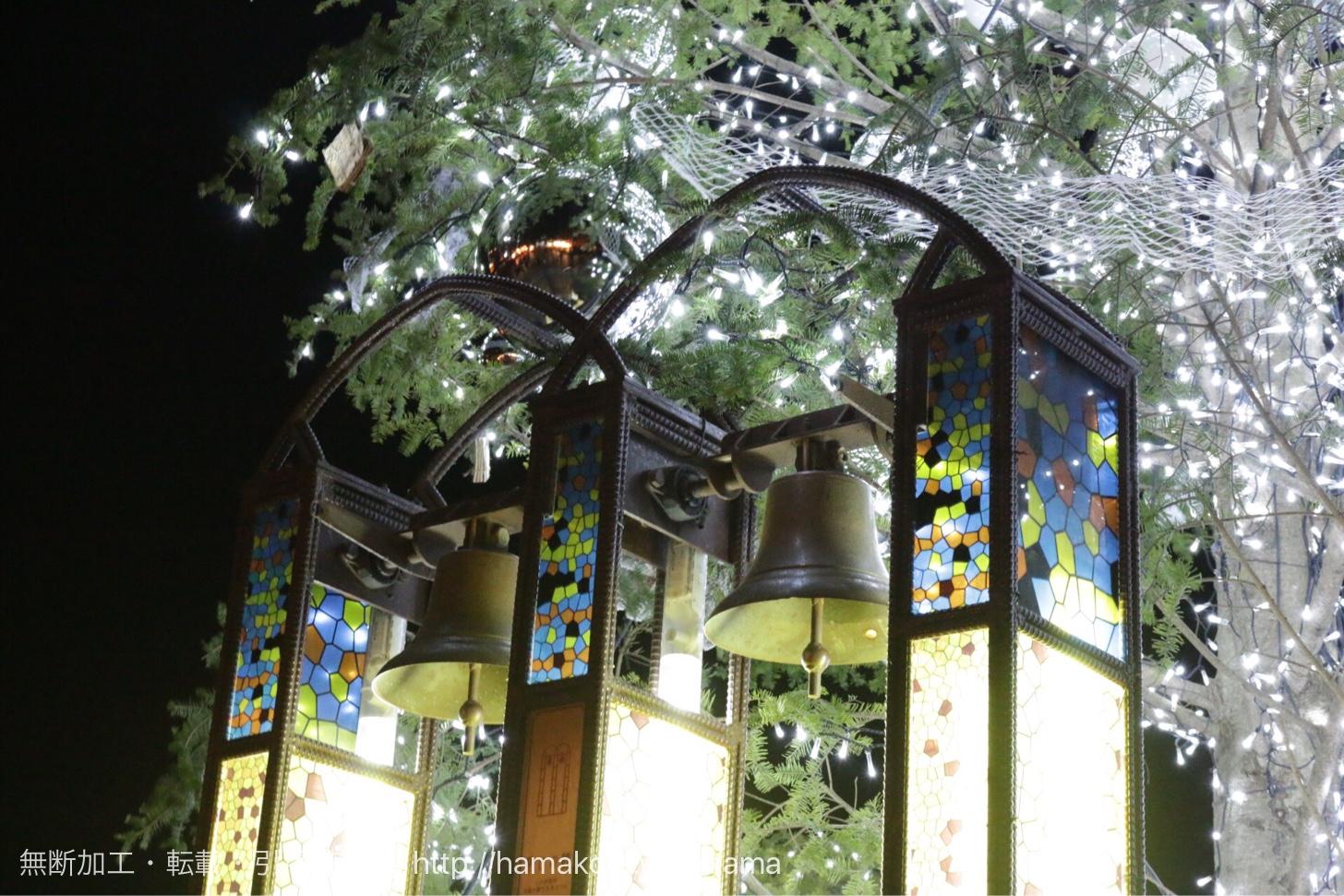 クリスマスマーケット クリスマスツリーのベル